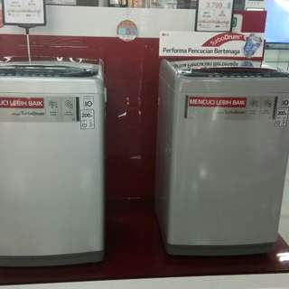 LG Mesin Cuci Top Loading Bisa Cicil tanpa Dp Bebas Bunga