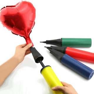 🚚 可攜式氣球 手動氣球打氣筒 手推式氣球充氣用