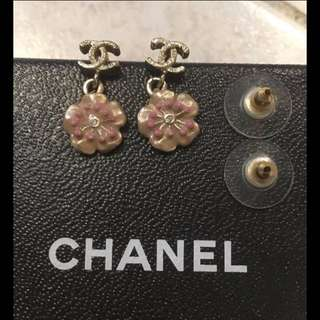 Chanel Flower Motif Earing