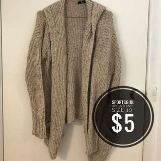 Sportsgirl hooded knit