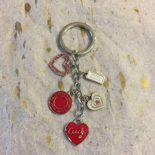 Hearts Coach Keychain