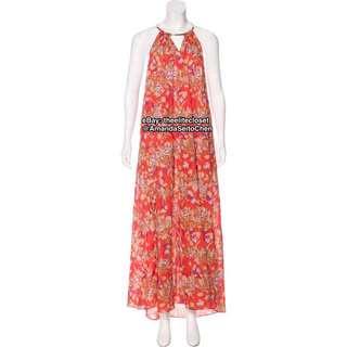 Zimmermann Poppy Gold Tube Maxi Dress (Size 0)