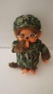 Monchhichi Army Style
