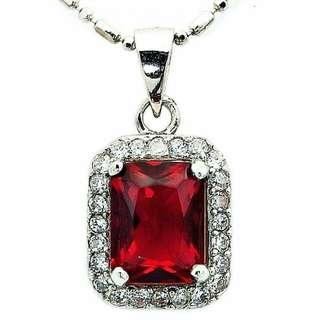 1 set 925 sterling silver pendant n earrings
