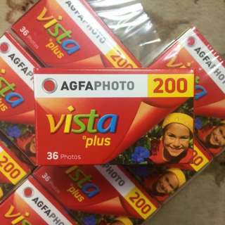 AGFA Vista Plus 200 Fresh Film ( Iso 200 ) ( Ideal for General Use )