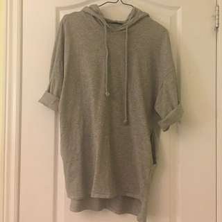 Zara hooded shirt size S