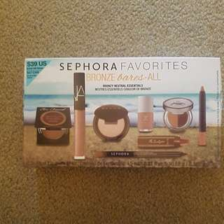 Sephora bronze bares all pack