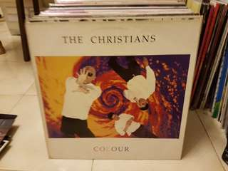 The Christians Colour Vinyl LP Original Pressing Rare