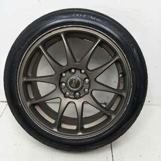 16 '' Sport Rim With Tyre 4x100 4x114.3(SR776)