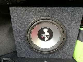 Mohawk 10' Subwoofer with box (Double Coil)