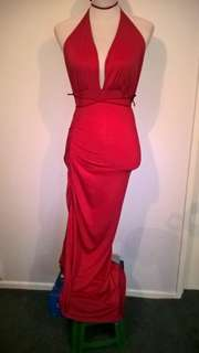 Red Dress size 8-10 #2017REGRETS