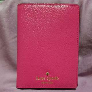 Brand New Authentic Kate Spade Leather Passport Holder Cover Wallet