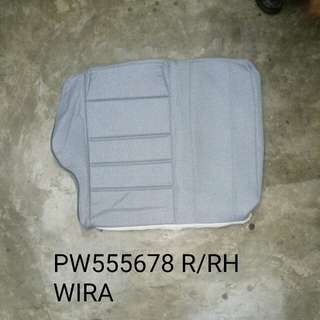 PROTON WIRA REAR BACK SEAT COVER RH GENUINE PART