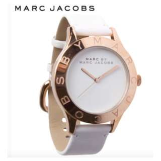 Marc by Marc Jacobs Blade Watch white rose gold