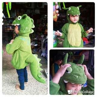 Costume dinosour