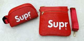 Supreme X LV sling bag