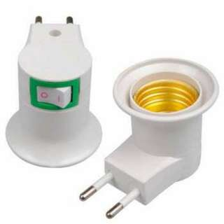 Fitting E27 Lampu Bohlam Portable