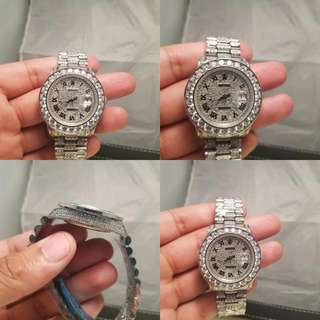 Rolex Date Just Iced