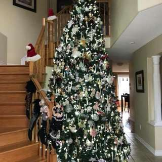 12ft Christmas tree
