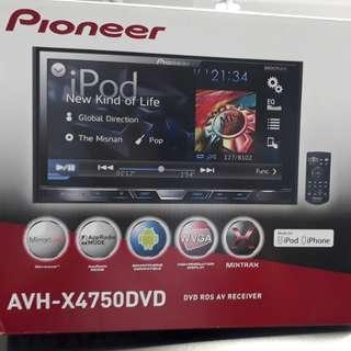 Pioneer Avh-x4750dvd