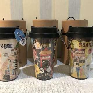 Starbucks Japan tumblers