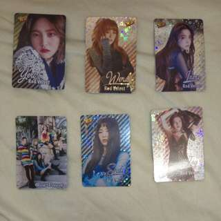 Red Velvet yes cards 第28期 無瑕