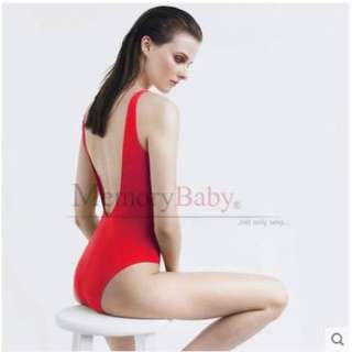 Brand new red swimming suit