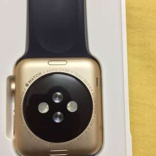 Apple Watch Sport 42mm 7000 series Gold Aluminium