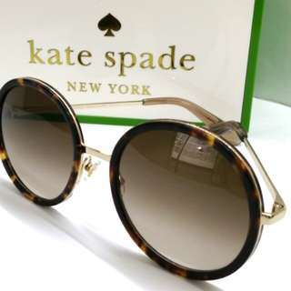 896667140a3c Authentic Kate Spade Sunglasses New York Hello Sunshine Series LAMONICAS  2IKHA + Original Box Cloth