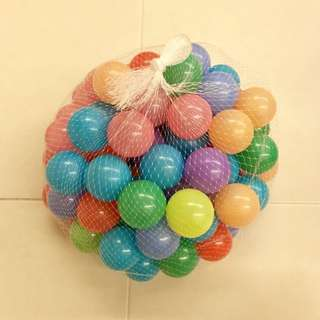 Kids Colorful Plastic Play Balls