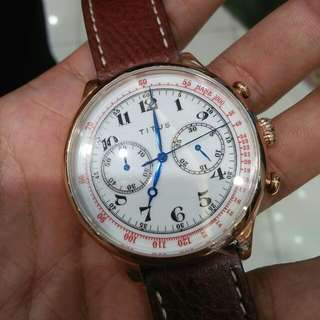 Re-issue Vintage Titus Chronograph Watch