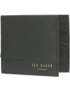 $410 包郵 included local postage Ted Baker menS walllet black Valentine's Day Chinese New Year,birthday,Anniversary gift  情人節新年生日週年禮物