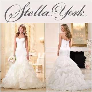 Stella York Wedding Gown (Including Long Veil)