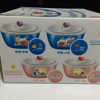 哆啦A夢 美味陶瓷方碗