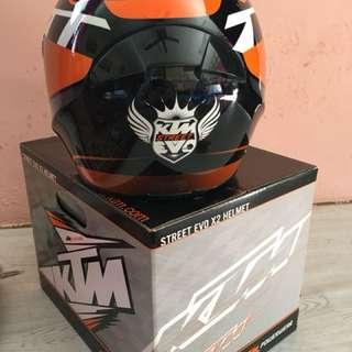 KTM Street Evo X2 Helmet