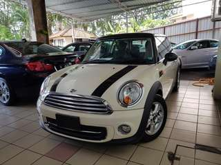 Mini Cooper 1.6L Unreg