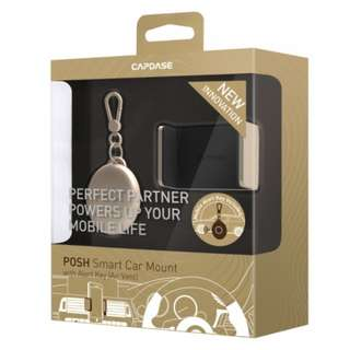 [Brand NEW] Capdase - Smart Car Mount with Alert Key POSH_Air Vent for Smartphone - GOLD