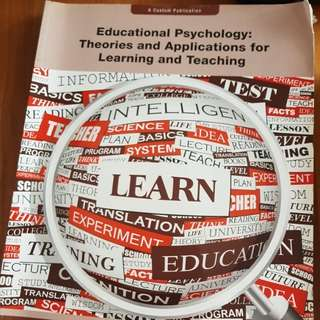 Educational pshycology: theories and applications for learning and teaching