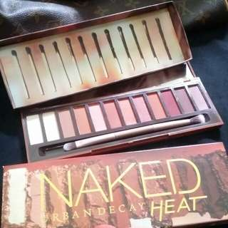 Urbab decay naked heat palette
