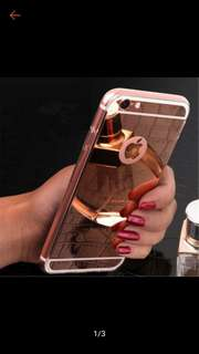 Mirror Jelly Case for iPhone 5 , 5s , SE 6 , 6s,  7/Plus X