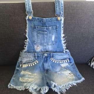 Boohoo overalls