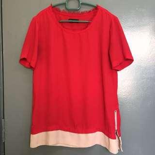 SEED Red Shirt XXS