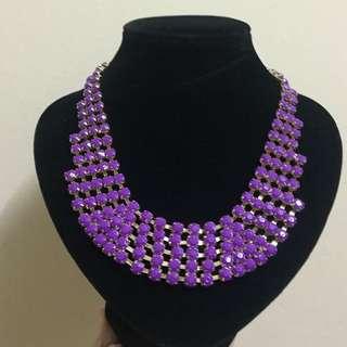 Necklace Purple RM10