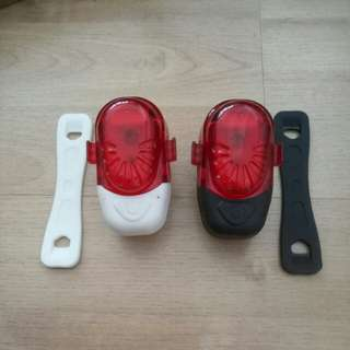 bicycle rear safety red LED light bh