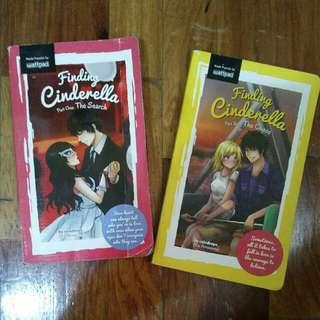 Wattpad book (Finding Cinderella 1&2)