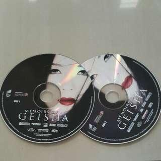 Vcd Geisha Original