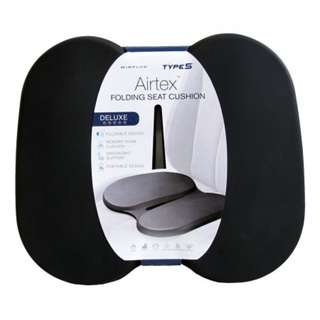 Type S Airtex Deluxe Folding Seat Cushion(Black)