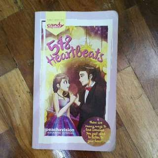 wattpad book (548 heartbeats)