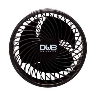 Dub CFS-700 6 inch Vehicle Fan(Black)