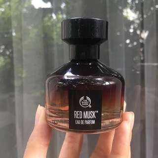 The body shop red musk